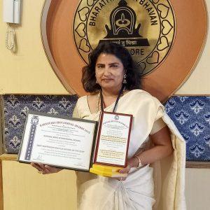 Best Montessori and Playschool award GurukulMont Award